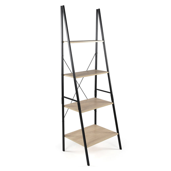 Stanton 4 Shelf Ladder Bookcase