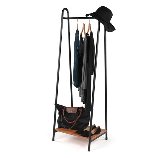 Stanton Clothing Rack with Shelf