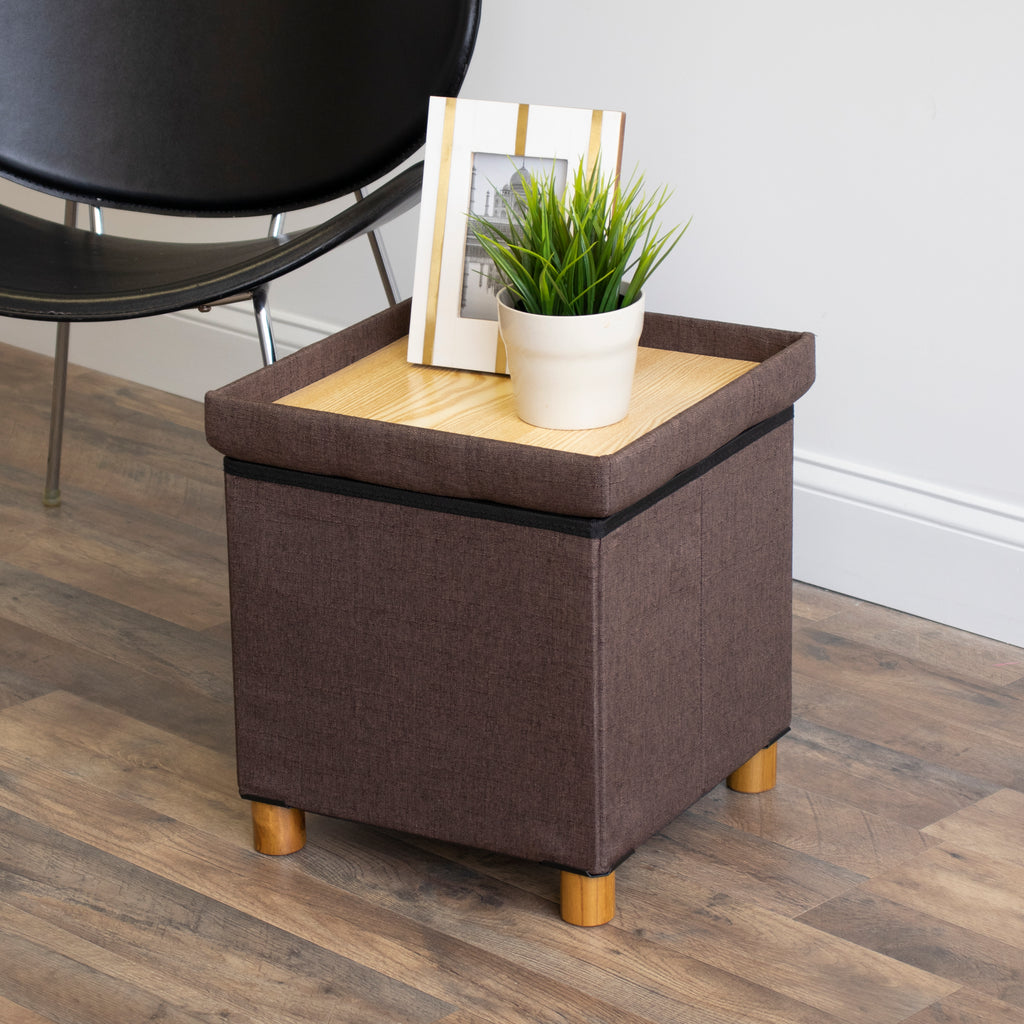 Ainsley Ottoman with Tray
