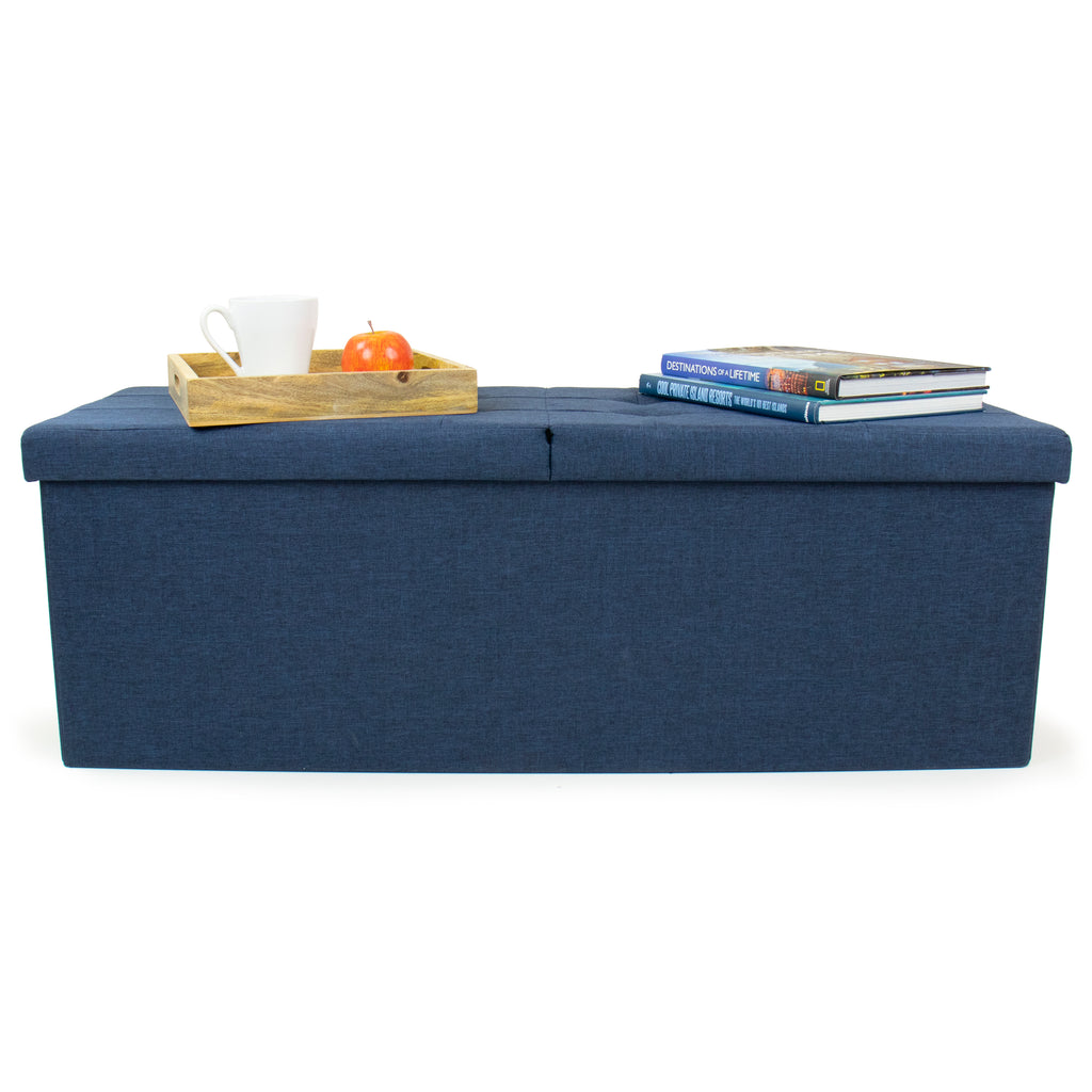 Harper Folding Storage Ottoman