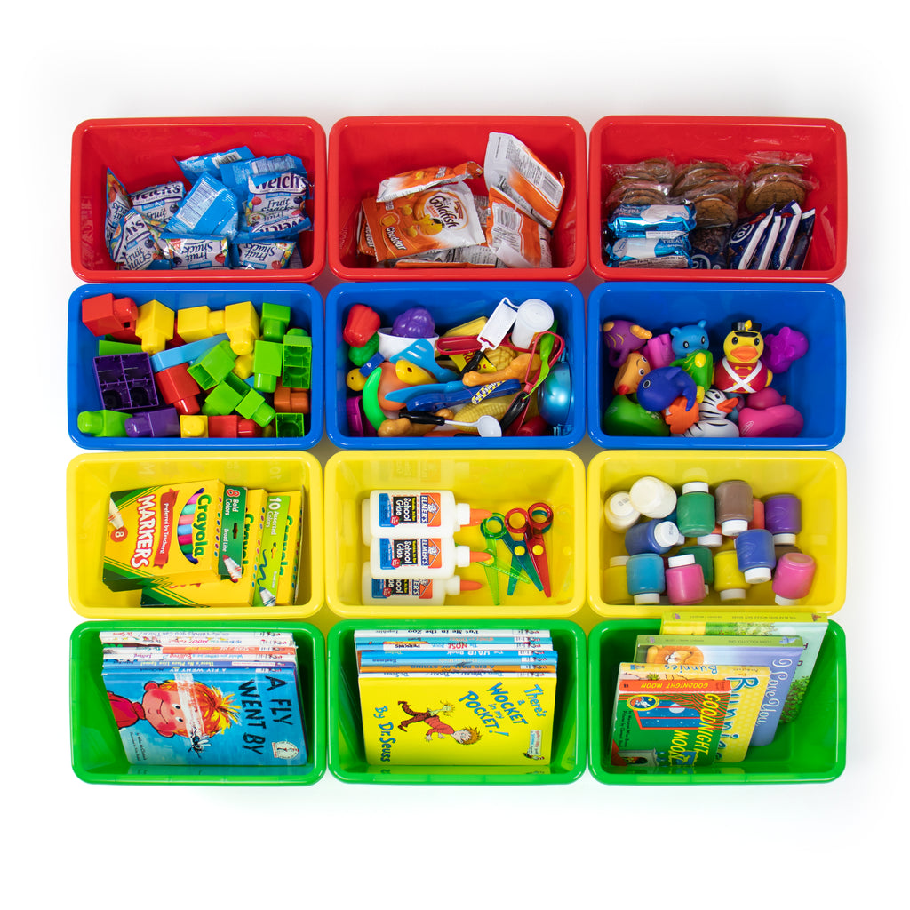 Primary Bin 4Pack, Small