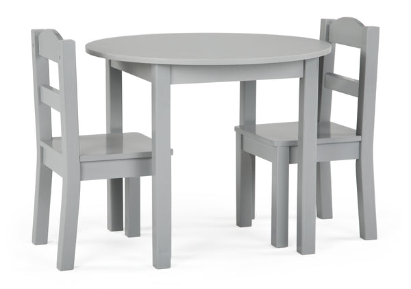 Inspire Round Wood Table & 2 Chairs