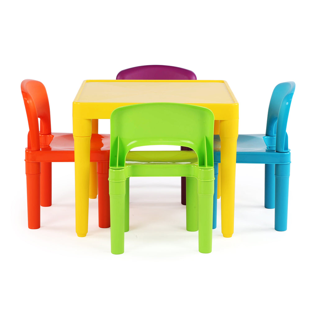 Playtime Plastic Activity Table with 4 Chairs