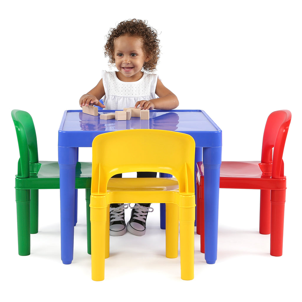 Primary Plastic Activity Table & 4 Chairs