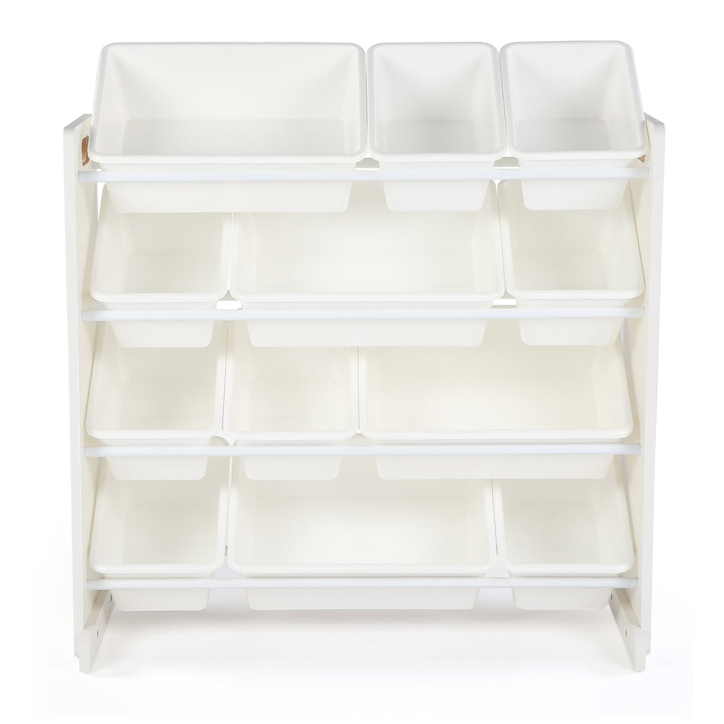 Cambridge White 12-Bin Toy Organizer