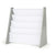 Inspire Grey and White Book Rack