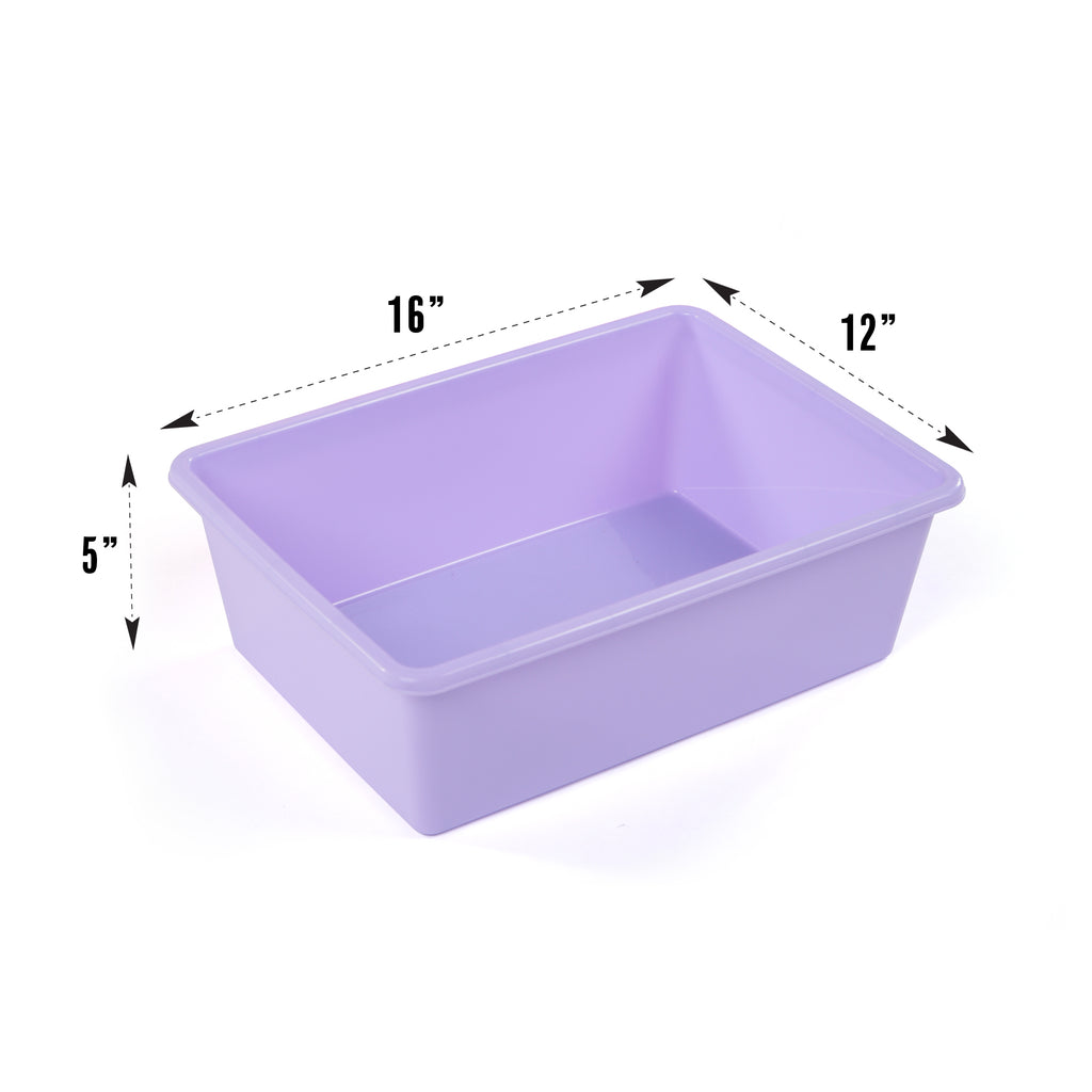 Pink/Purple Bin 4Pack, Large