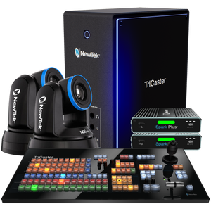 TriCaster Mini 4K NDI Deluxe Bundle with PTZ Camera
