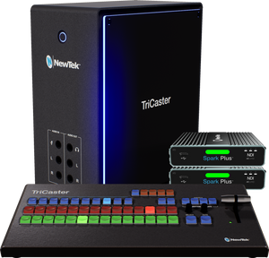 TriCaster Mini 4K NDI Base Bundle w Control Surface