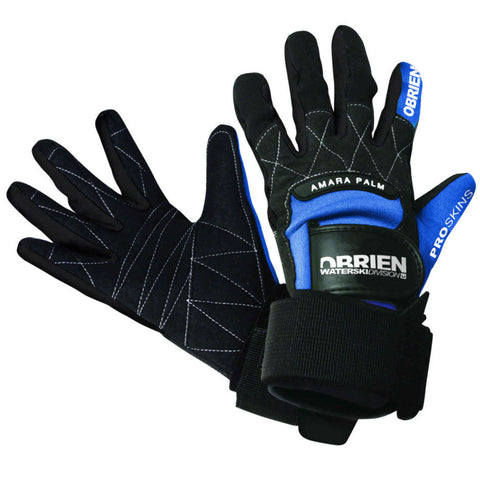 Waterski Slalom Pro Skin Full Glove Blue O'Brien