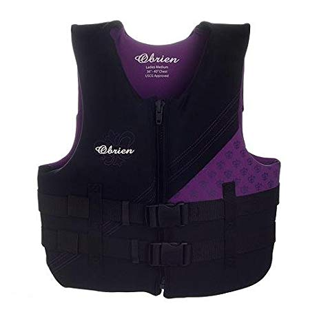 Vest Waterski Women Traditional Neoprene Violet O'Brien