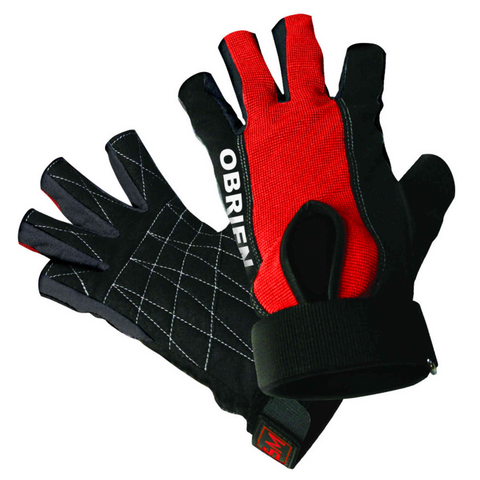Waterski Slalom Ski Skin 3/4 Glove Red O'Brien