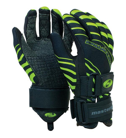 NEW Waterski Slalom Gloves K-Palm Curve Masterline