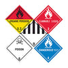 D.O.T. Hazard Labels