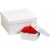Deluxe White 2-pc Gift Boxes