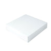 12 x 12 x 2 1/2 White Gloss Gift Box 50/Case