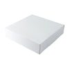 12 x 12 x 5 1/2 White Gloss Gift Box 50/Case