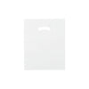 12 x 15 High Gloss Clear Plastic Bags w/ Die Cut Handle 1000/Case
