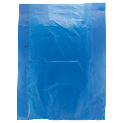 12 x 15 Navy Blue Hi-Density Flat Merchandise Bags (.60 mil thickness) 1000/Case