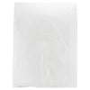 12 x 15 White Hi-Density Flat Merchandise Bags (.60 mil thickness) 1000/Case