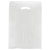 12 x 3 x 18 White Hi-Density Gusseted Merchandise Bags (.60 mil thickness) 1000/Case