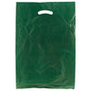 13 x 3 x 21 Dark Green Hi-Density Gusseted Merchandise Bags (.70 mil thickness) 500/Case