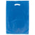 13 x 3 x 21 Navy Blue Hi-Density Gusseted Merchandise Bags (.70 mil thickness) 500/Case