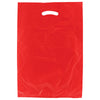 13 x 3 x 21 Red Hi-Density Gusseted Merchandise Bags (.70 mil thickness) 500/Case