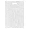 13 x 3 x 21 White Hi-Density Gusseted Merchandise Bags (.70 mil thickness) 1000/Case