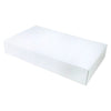14 x 14 x 7 White Apparel Box - Matte Finish 25/Case