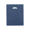 15 x 18 x 4 High Gloss Navy Plastic Bags w/ Die Cut Handle 500/Case