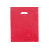 15 x 18 x 4 High Gloss Red Plastic Bags w/ Die Cut Handle 500/Case