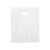 15 x 18 x 4 High Gloss White Plastic Bags w/ Die Cut Handle 500/Case