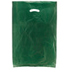 16 x 4 x 24 Dark Green Hi-Density Gusseted Merchandise Bags (.75 mil thickness) 500/Case