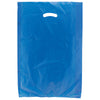 16 x 4 x 24 Navy Blue Hi-Density Gusseted Merchandise Bags (.75 mil thickness) 500/Case
