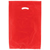 16 x 4 x 24 Red Hi-Density Gusseted Merchandise Bags (.75 mil thickness) 500/Case