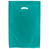 16 x 4 x 24 Teal Hi-Density Gusseted Merchandise Bags (.75 mil thickness) 500/Case