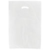 16 x 4 x 24 White Hi-Density Gusseted Merchandise Bags (.70 mil thickness) 1000/Case