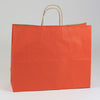 16 x 6 x 13 Terra Cotta Shopping Bags w/ Handles 250/Case