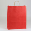 16 x 6 x 19 1/4 Red Shopping Bags w/ Handles 200/Case