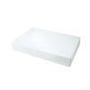 17 x 11 x 2 1/2 White Apparel Box - Matte Finish 50/Case