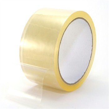 "2"" x 55 Yard Clear (3 mil) Packing Tape - 6/Case"
