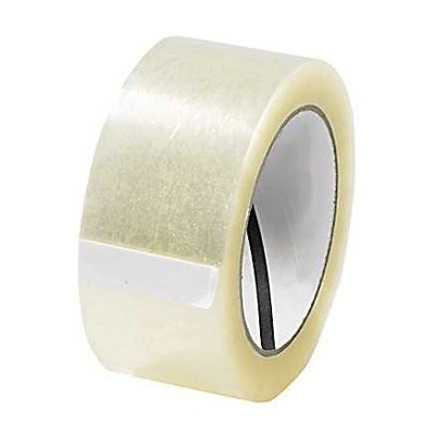 "2"" x 110 Yard Clear (2 mil) Packing Tape - 6/Case"