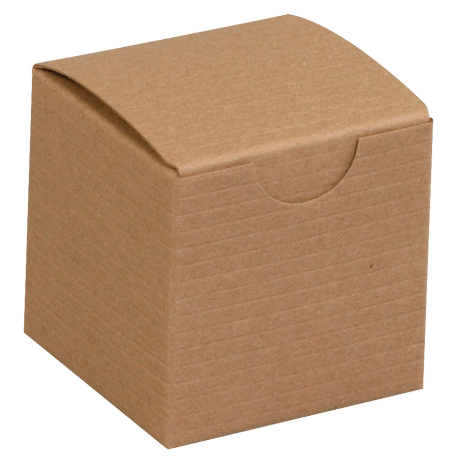 Wholesale Kraft Gift Boxes Brown Cardboard Small