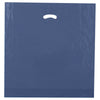 20 x 20 x 5 High Gloss Navy Plastic Bags w/ Die Cut Handle 500/Case