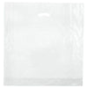 20 x 20 x 5 High Gloss Clear Plastic Bags w/ Die Cut Handle 500/Case