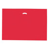 24 x 24 x 5 High Gloss Red Plastic Bags w/ Die Cut Handle 500/Case