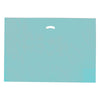 24 x 24 x 5 High Gloss Teal Plastic Bags w/ Die Cut Handle 500/Case