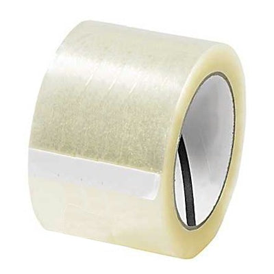 "3"" x 55 Yard Clear (3 mil) Packing Tape 24/Case"