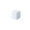 3 x 3 x 3 White Gloss Gift Box 100/Case